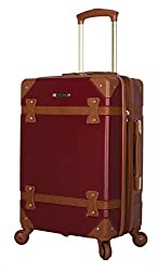 top 10 vintage hardside luggage Rosetti Designer 20inch Carry-on Baggage-Lightweight and Expandable Hard Case-Wheels …