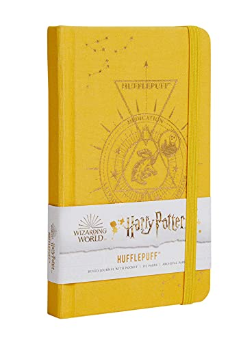 Harry Potter: HufflepuffConstellationRuled Pocket Journal