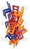 ISO TRADE Jeu Familial d'adresse Falling Chairs #6720