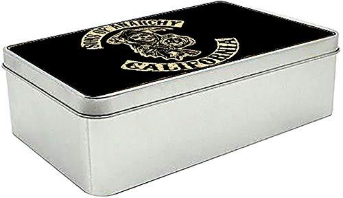 Hijos De La Anarquia Sons of Anarchy Samcro Redwood Original Men of Mayhem A Caja Lata Metal Tin Box