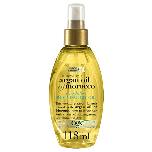 OGX Argan Oil of Morocco Weightless Dry Out Spray, 118 ml