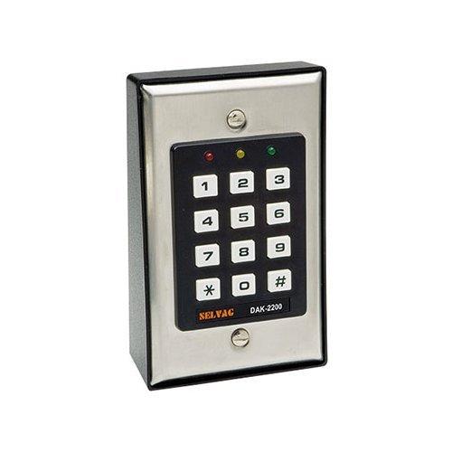 DK 2200 Veiligheid digitaal codeslot deuropenen via code sabotagecontact en positioneringsbewaking van de deur