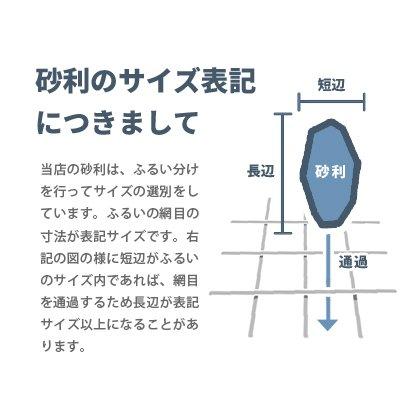 東海砂利『ミルキー30mm』