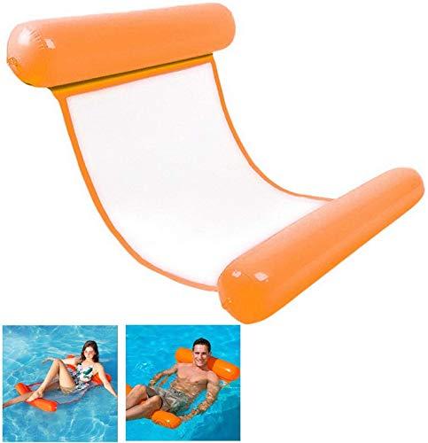 BUCUO Cama hinchable para piscina 4 en...