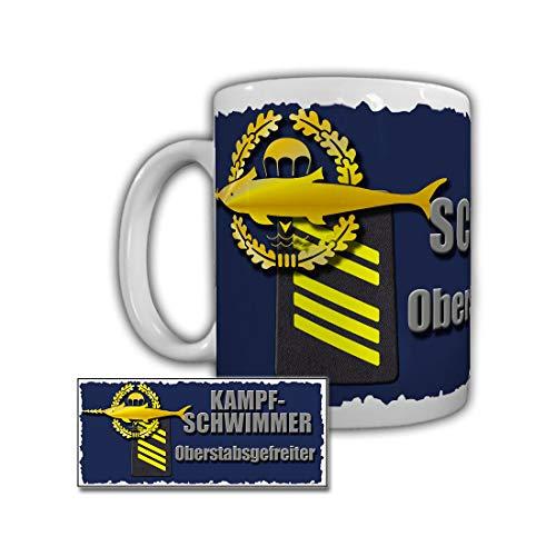 Tasse Kampfschwimmer Stabsgefreiter Warnemünde Spezialkräfte Bundeswehr #29253