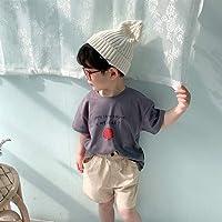 キッズ 半袖 Tシャツ 子供服 女の子 男の子 プリント かわいい 夏服 商品動画あり 韓国子供服 セール