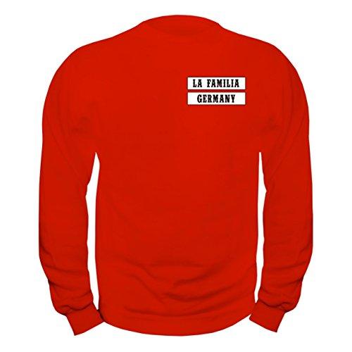 No Fight No Glory Männer und Herren Sweatshirt La Familia Worldwide (mit Rückendruck)