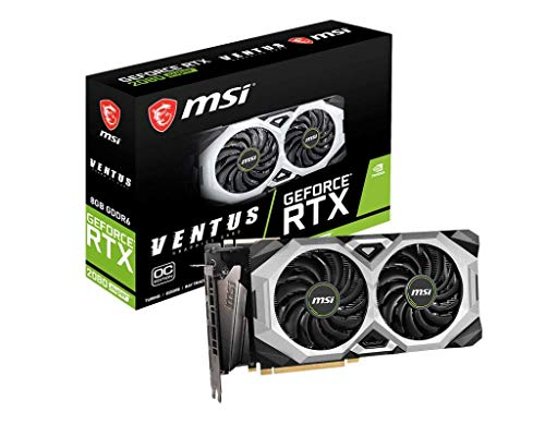 MSI Gaming GeForce RTX 2080 Super 8GB GDRR6 256-Bit HDMI/DP Nvlink Torx Fan Turing...