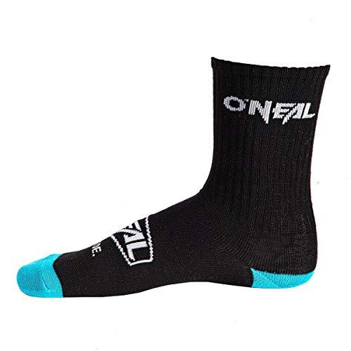 O'Neal Crew Icon Fahrrad Socken schwarz/türkis 2019 Oneal: Größe: 39-43