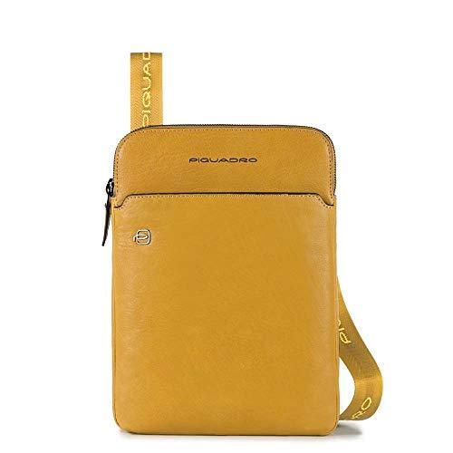Borsello Doppia Cerniera Porta iPadAir/Pro 9,7 | Piquadro Black Square | CA3978B3-Testa Moro