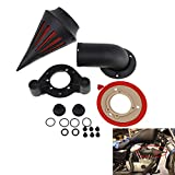 YHMTIVTU Motorcycle Air Filter Spike Air Cleaner Intake Fit for Harley Sportster 2004-2019