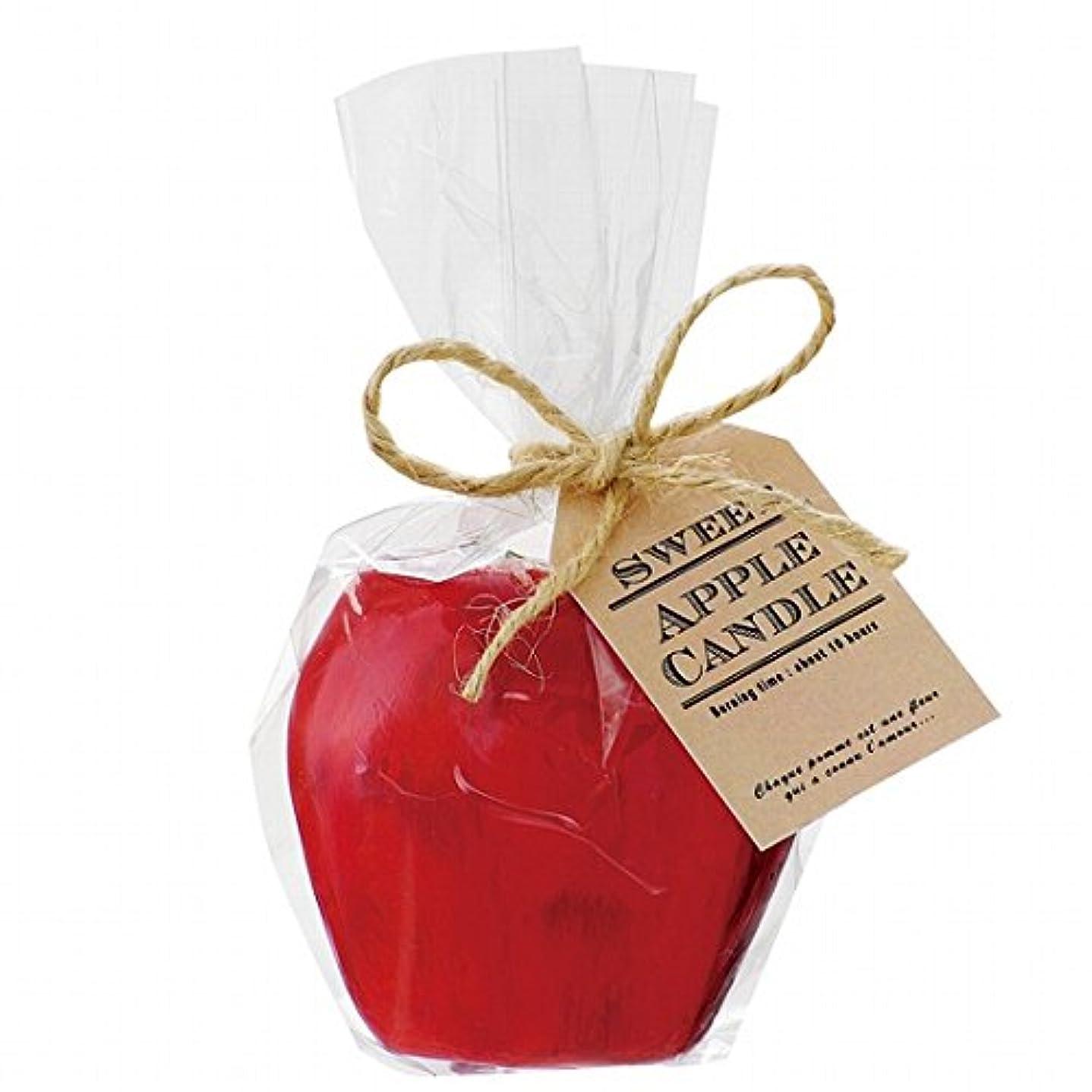 共和党葡萄ピラミッドカメヤマキャンドル( kameyama candle ) スイートアップルキャンドル 「 レッド 」