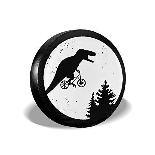 Ahdyr T-Rex Moon Rueda de Repuesto Cubierta de neumático Divertidos Protectores de neumáticos Impermeables Novedad