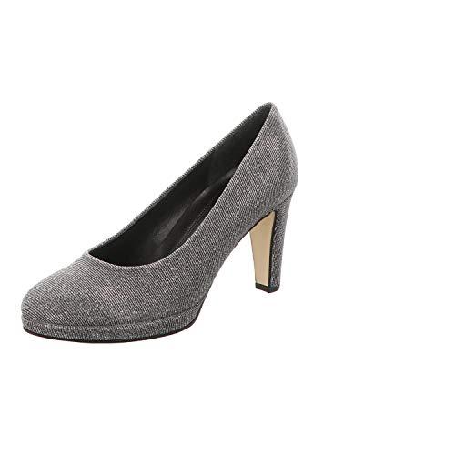 Gabor Damen Fashion Pumps, Grau (Argento 69), 40 EU