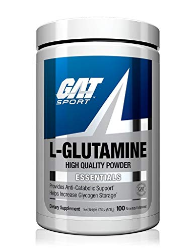 GAT Sport Pure and Potent L-Glutamine Supplement for Advanced Athlete...