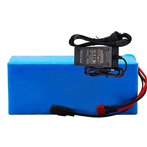 FJYDM Batteria per Bici Elettrica 36V 16000Mah Batteria al Litio con Caricabatterie Batteria per Scooter per Motore Bicicletta Elettrica da 200W 350W 500W