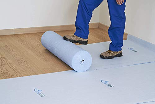 KORUSER Temporary Floor Protection 36'' x 100' - Anti Slip, Easily Applied Save Your Time - 100% Paint Proof – Reusable Material,Coverage of 300 sqft!