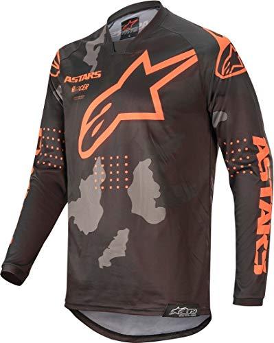 Alpinestars Tactical Racer Motocross Jersey Schwarz/Grau/Orange S