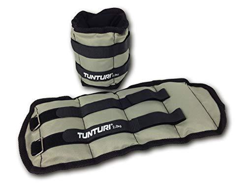 Tunturi 2er Set Manschettengewichte für Arme und Beine, 0,5 kg, Handgelenksgewichte und Knöchelgewichte