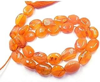 "Jewel Beads Natural Beautiful jewellery Natural Gemstone Carnelian Agate Plain Oval Shape Beads 13"" Strand oval beads,semiprecious beads,stone beads,oval bead,natural beads Code:- JBB-18800"