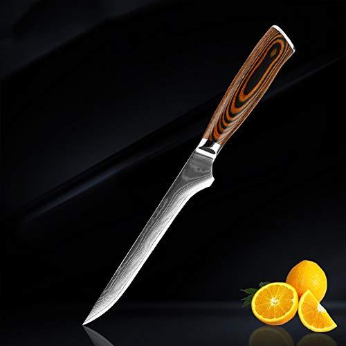Cocina CHEF CUCHILLO JUEGO DE CUCHILLO DE ALTA CAJA DE ALTA CAJA DE CAJA DE CARNE DE CALA DE CAJA DE CAJADA DE CAJA DE CUCHILLA DE CUCHILLO (Color : Boning knife)