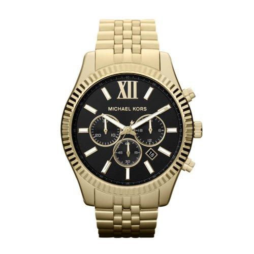Michael Kors Orologio Cronografo Quarzo Uomo con Cinturino in Acciaio Inox MK8286