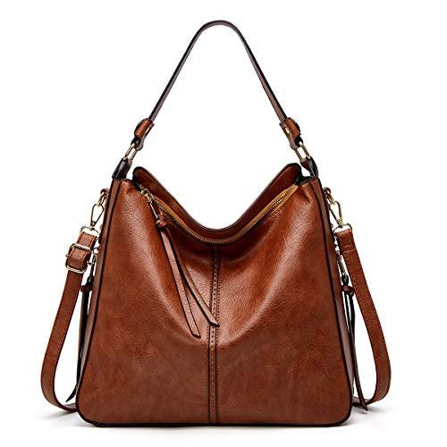 ANTINXUP Handtaschen Damen, Taschen für Frauen, große Handtaschen aus Leder, Schultertasche Damen Synthetik Crossbody Taschen Tote
