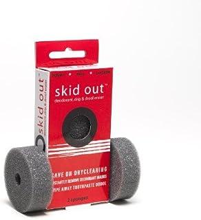 Fashion First Aid スキッドアウト(Skid Out):デオドラント、ドリップ&ドロール イレーサー シミ、こぼれ消しスポンジ、2個入り