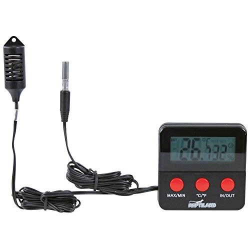Trixie 76114 Digital-Thermo-/Hygrometer, fernfühlend, 6 × 6 cm