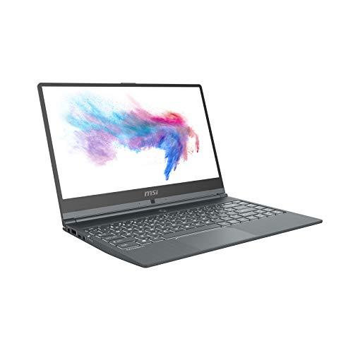"MSI Modern 14 A10RAS-870XES - Ordenador portátil de 14"" FullHD (Intel Core i7-10510U, 16 GB RAM, 1TB SSD, GeForce MX330), sin sistema operativo) gris - Teclado QWERTY Español"