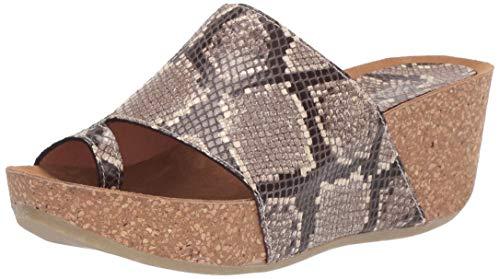 Donald J Pliner Women's GINIE2-49 Sandal, Natural, 8.5 B US