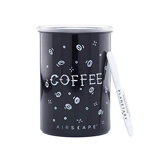 Airscape Stainless Steel Coffee Canister