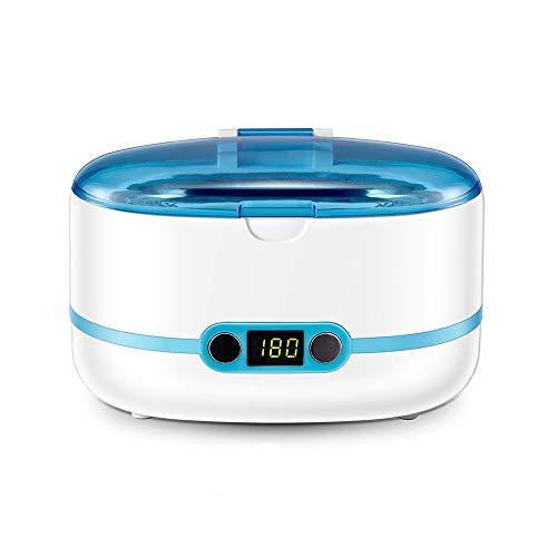 MYXMY Ultraschall-Reinigungsgerät Waschmaschine Teeth Set Schmucksacheuhrgeschenk Reiniger Kontaktlinsen-Reinigungsmaschine mit Timing-Funktion LCD-Anzeige