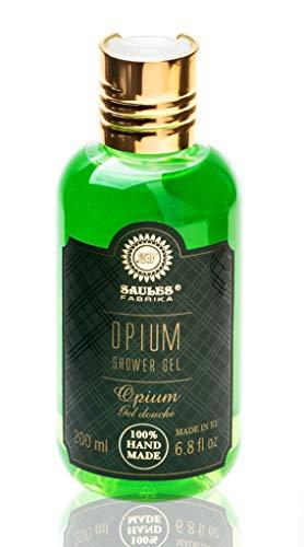 SAULES FABRIKA Damen Herren Duschgel Kosmetik Shower-Gel Wellness SPA-Erlebnis Duft: Opium
