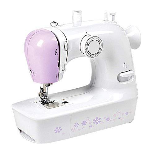 ZHTY Macchina da cucire, macchina da cucire elettrica, macchina da cucire Resistente con tavolo allungabile, macchina da cucire rapida per tagliacuci a Mano con Ricamo a Mano