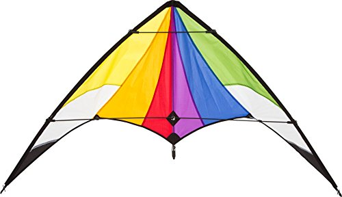 HQ- Stunt Kite Orion Rainbow R2F Cerf-Volant, 10218730, Multicolore