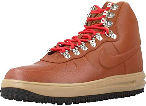 Nike Men's Lunar Force 1 Duckboot '18 Boots (7.5 UK) Brown
