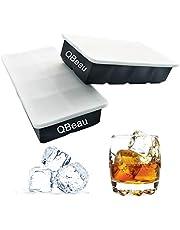 QBeau 製氷皿 製氷機 製氷器 四角氷 【2個セット】(直径4.8cm)