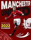 """Manchester United 2022 Calendar: Soccer Calendar 2022, SPORT Calendar 2022-2023 – 18 months – BIG SIZE 17""""x11"""". Planner for all fans kids boys"""