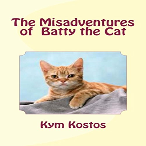 The Misadventures of Batty the Cat audiobook cover art