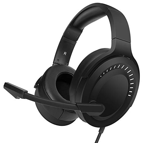 NUBWO N15 Stereo Gaming Headset with Noise Canceling Mic, Work from Home Headphones with mic for PS4, Xbox One, Nintendo Switch Lite, PC, Laptop, Mac