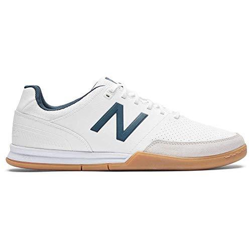 New Balance MSAMIWN4, Football Shoe Mens, Blanco, 43 EU