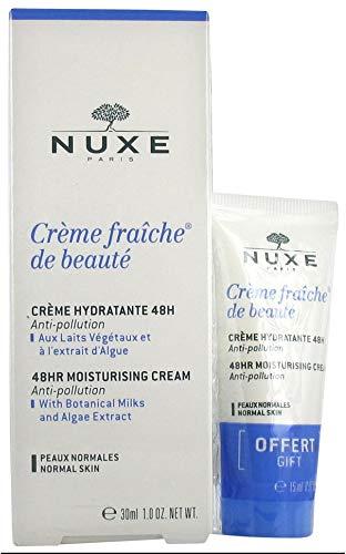 Nuxe Crème Fraiche de Beauté Crème Hydratante 48H 30 ml + 15 ml Offert