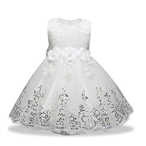 LZH Vestidos de niñas Vestidos de Fiesta Vestidos de Fiesta de Princesa cumpleaños cumpleaños tutú Vestido de Novia de Encaje de Flores