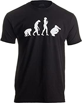 evolution of the photographer t-shirt
