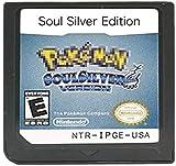 Pokemon, Heart Gold, Soul Silver, Platinum, Diamond, versión de perla, versión Game Card for NDS 3DS DSI DS (Soul Silver Edition)