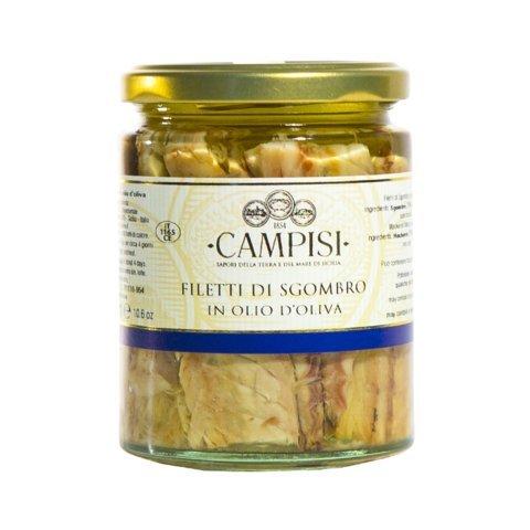 TIPILIANO | Filetti di sgombro in olio di oliva | 300 gr.