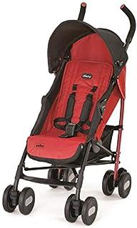 Chicco Echo Basic Stroller W/Bumper Bar Garnet Red, for Unisex - 8058664037773