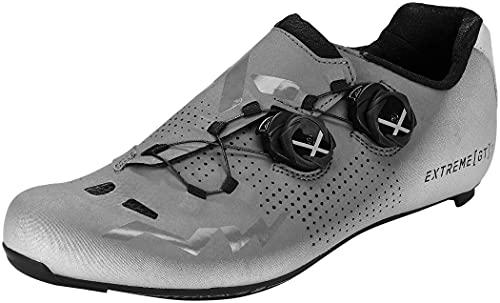 Northwave Extreme GT 2 Rennrad Fahrrad Schuhe grau/silberfarben Reflective 2021: Größe: 45