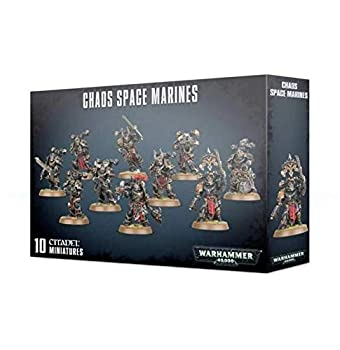 Games Workshop Warhammer 40k - Space Marine du Chaos Squad  2019  Multi-Colored